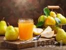 Рецепта Сладко от попски круши с лимонтозу